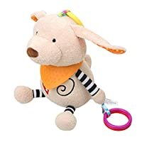 新生児のソフト動物の赤ちゃんの手の人形幼児安心人形動物なだめる人形