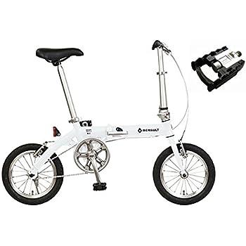 RENAULT【ルノー】 LIGHT 8【ライト8】 14インチ 折り畳み自転車 (ホワイト)