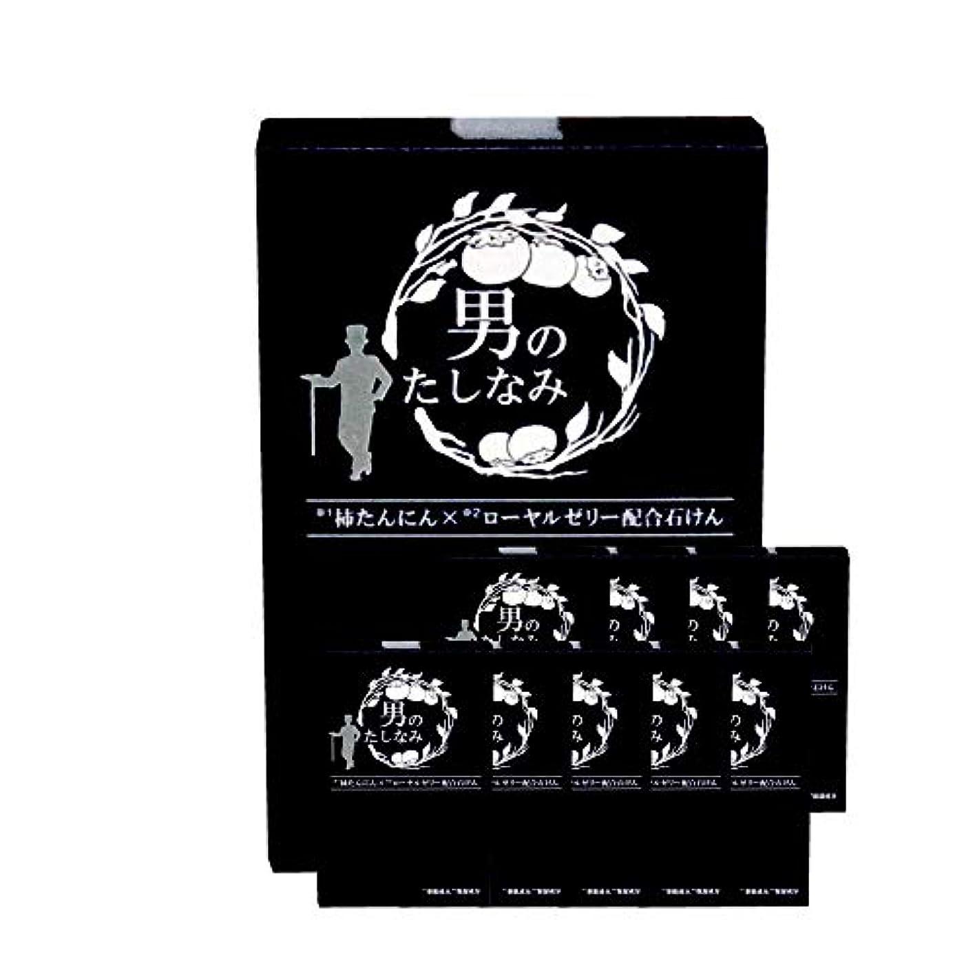 シビック悪用赤ちゃん柿渋石鹸 男のたしなみ 100g (10個セット)