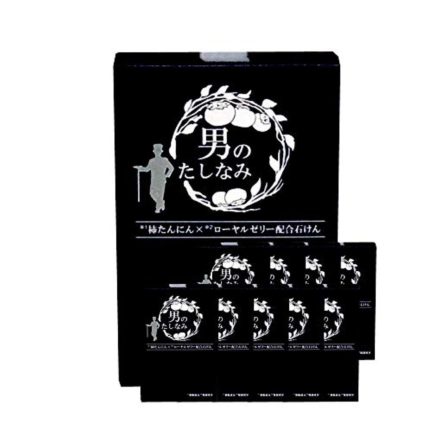 考慮メトロポリタンロースト柿渋石鹸 男のたしなみ 100g (10個セット)