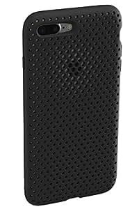 AndMesh Mesh Case iPhone8Plus iPhone7Plus ケース 耐衝撃/ブラック AMMSC711-BLK