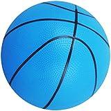 【ノーブランド品】 ミニ 弾む バスケットボール 屋内/屋外 スポーツ ボール 子供 おもちゃ ギフト 全4色  - ブルー