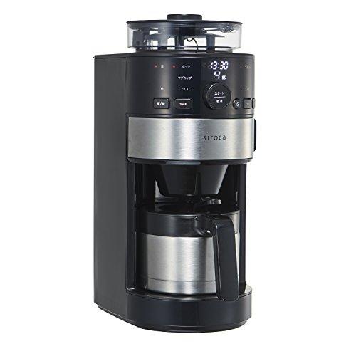 siroca コーン式全自動コーヒーメーカー SC-C122 ...