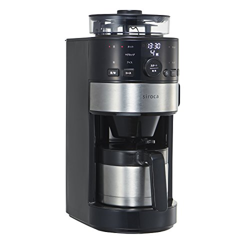シロカ コーン式全自動コーヒーメーカー SC-C122