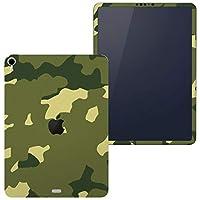 igsticker iPad Pro 12.9 inch インチ 専用 apple アップル アイパッド 2018 第3世代 A1876 A1895 A1983 A2014 全面スキンシール フル 背面 側面 正面 液晶 タブレットケース ステッカー タブレット 保護シール 人気 迷彩 カモフラ 模様 004087