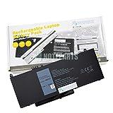 【NOTEPARTS】Dell デル Latitude 12 (E5270) 14 (E5470) 15 (E5570) バッテリー 79VRK HK6DV 6MT4T TXF9M対応