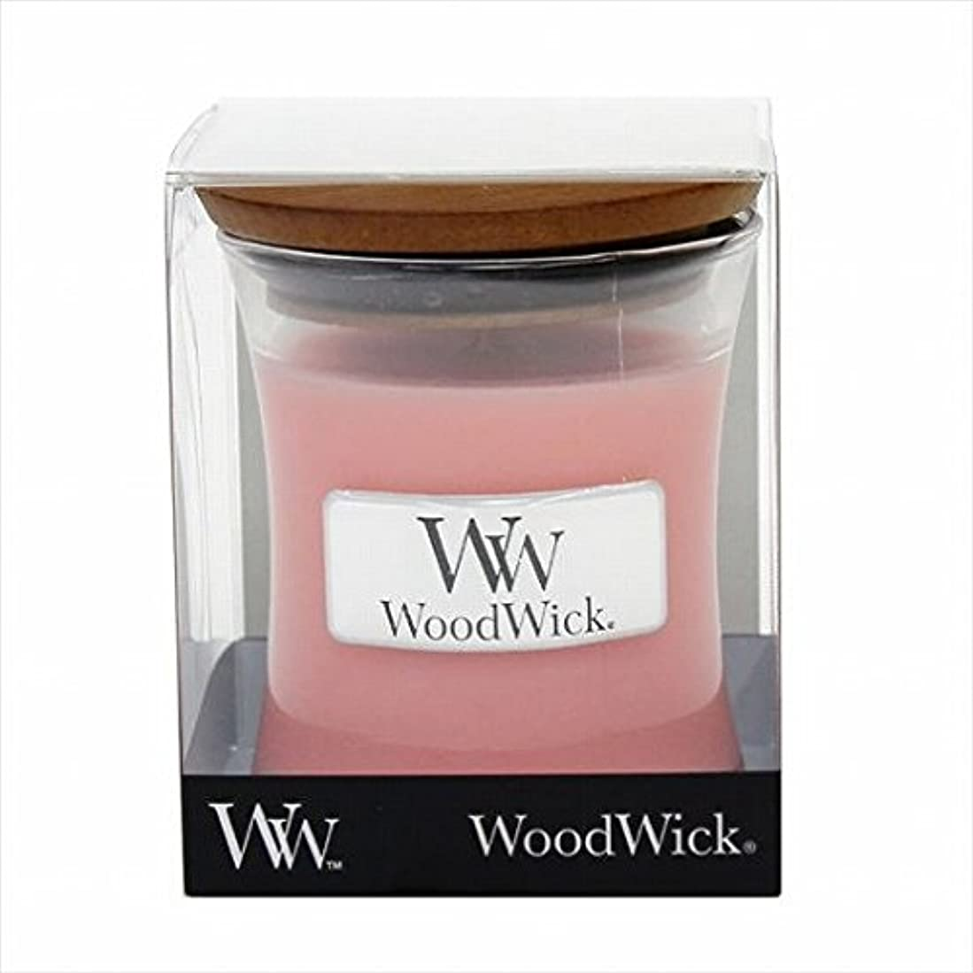 法令コットン吸収剤カメヤマキャンドル( kameyama candle ) Wood Wick ジャーS 「 ベリーソルベ 」