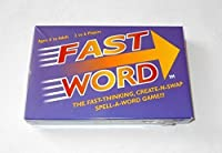 Fast Word Fast-Thinking Create-N-Swap Spell-a-Word Game! [並行輸入品]