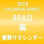 嵐 ARASI 2019 壁掛けカレンダー クリアファイル&ステッカー付き