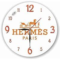 Hermes 11'' 壁時計 (エルメス) あなたの友人のための最高の贈り物。あなたの家のためのオリジナルデザイン