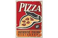 冷蔵庫用マグネット Fridge Magnet Retro Pizza