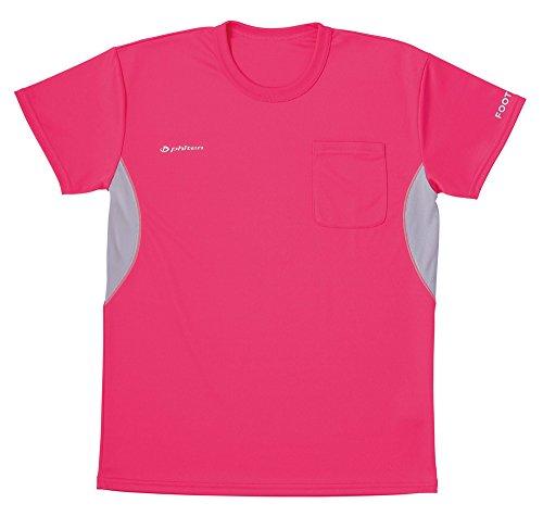 フットマーク フットマーク×ファイテン 介護ウェア Tシャツ ピンク LL