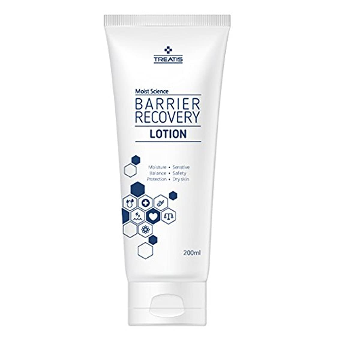 インテリア鳴り響くブロックするTreatis barrier recovery lotion 7oz (200ml)/Moisture, Senstive, Balance, Safty, Protection, Dry skin [並行輸入品]