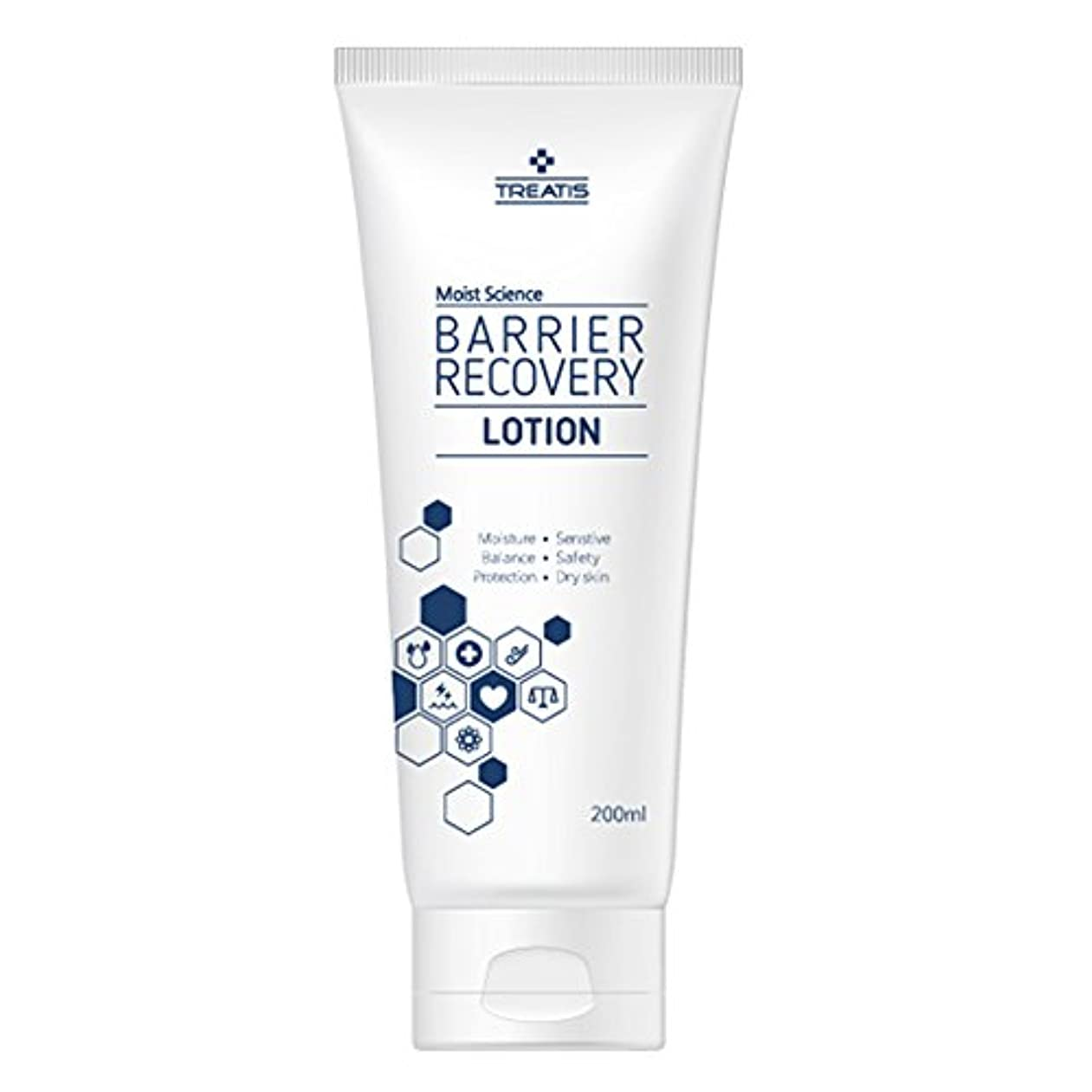 Treatis barrier recovery lotion 7oz (200ml)/Moisture, Senstive, Balance, Safty, Protection, Dry skin [並行輸入品]