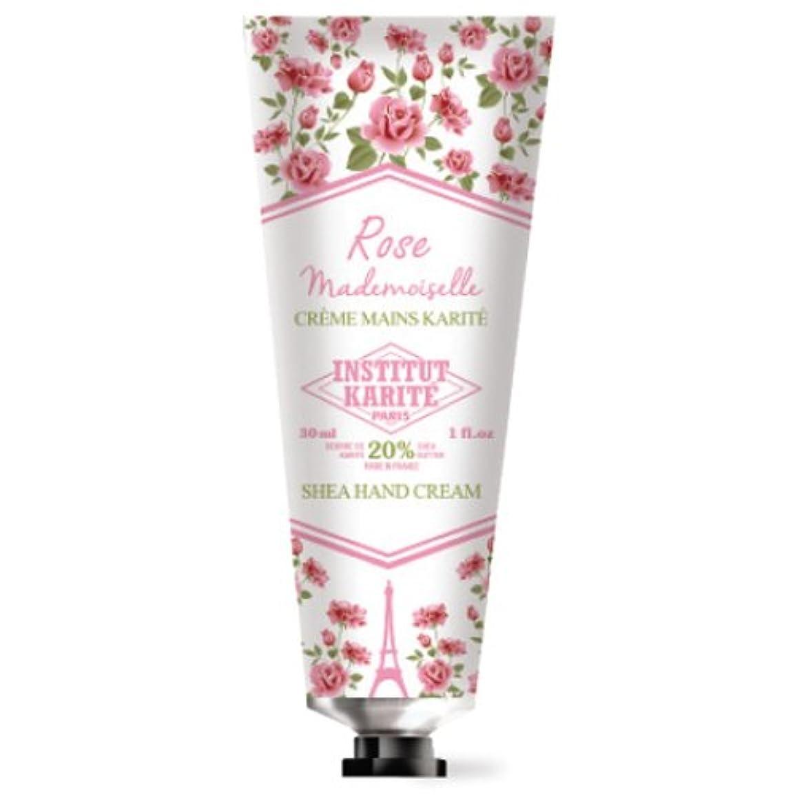 参照チーターロードハウスINSTITUT KARITE カリテ Rose Mademoiselle クラシックローズ ハンドクリーム 30ml