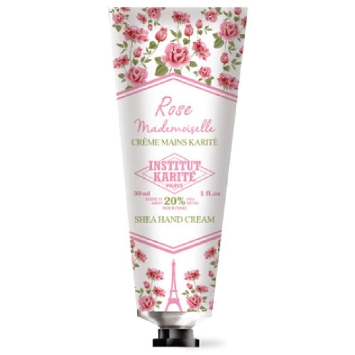 整理するサラダ事務所INSTITUT KARITE カリテ Rose Mademoiselle クラシックローズ ハンドクリーム 30ml