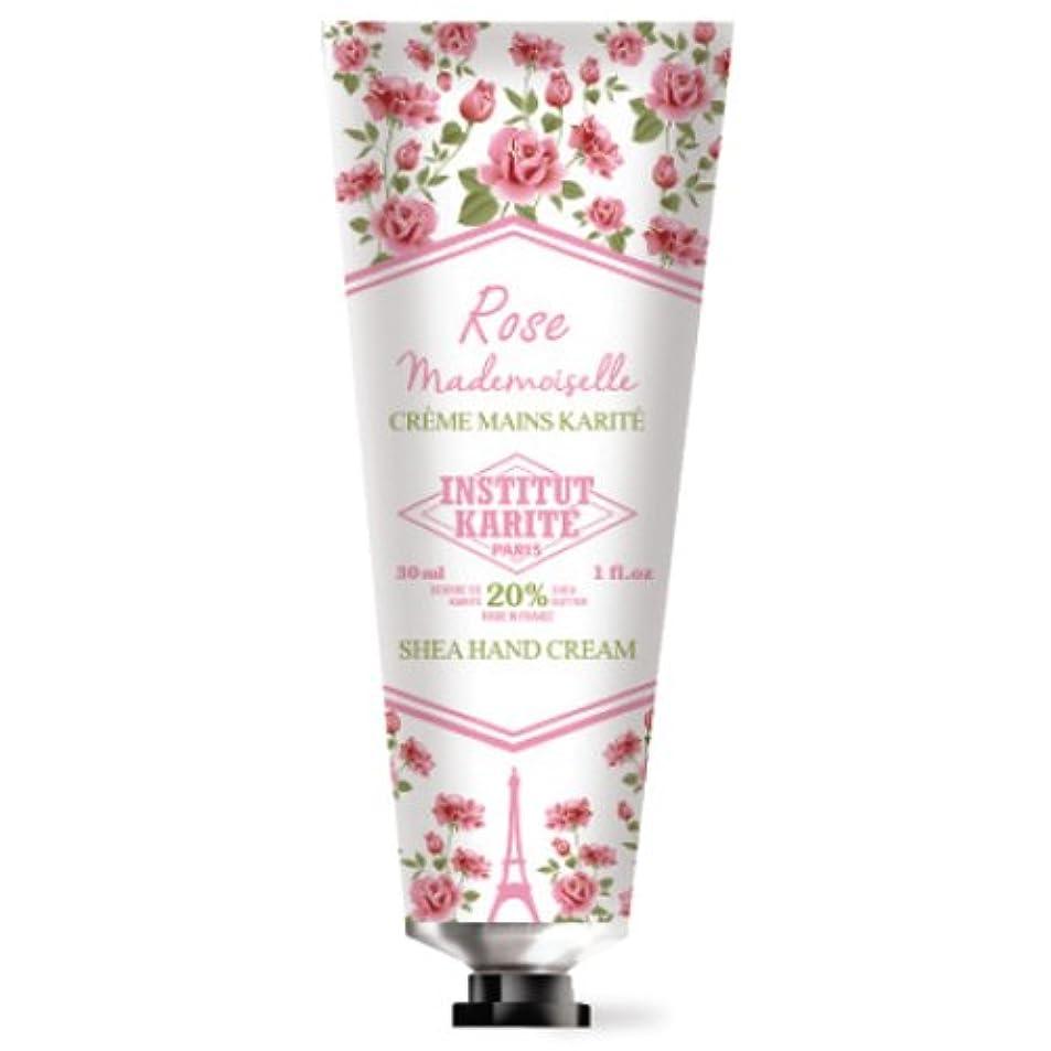 可能絡み合い危険INSTITUT KARITE カリテ Rose Mademoiselle クラシックローズ ハンドクリーム 30ml