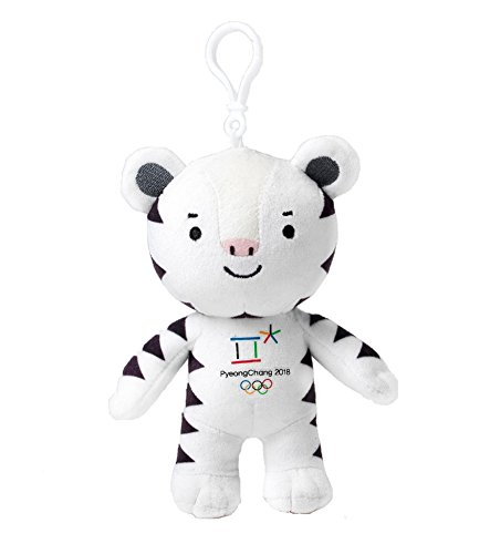 [pyeongchang olympic Winter Games2018] bag chain doll_ Soohorang 平昌オリンピックマスコット スホラン ぬいぐるみストラップ バッグチェーン [海外直送品]