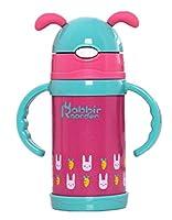 (ブイベビー)V-BABY 水筒 真空断熱 ボトル ステンレス プラスチック ストロー コップ キッズ 子供 男の子 女の子 動物 アニマル 260ml