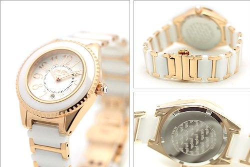 (フォリフォリ)FOLLI FOLLIE 腕時計 レディースウォッチ WF0B033BDW セラミック ホワイト/ピンクゴールド[並行輸入品]