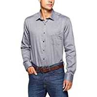 Van Heusen Men's Classic Relaxed Fit Shirt Herringbone