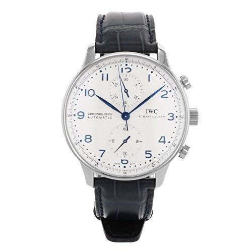 IWCポルトガルクロノグラフ自動メンズ腕時計IW371446...