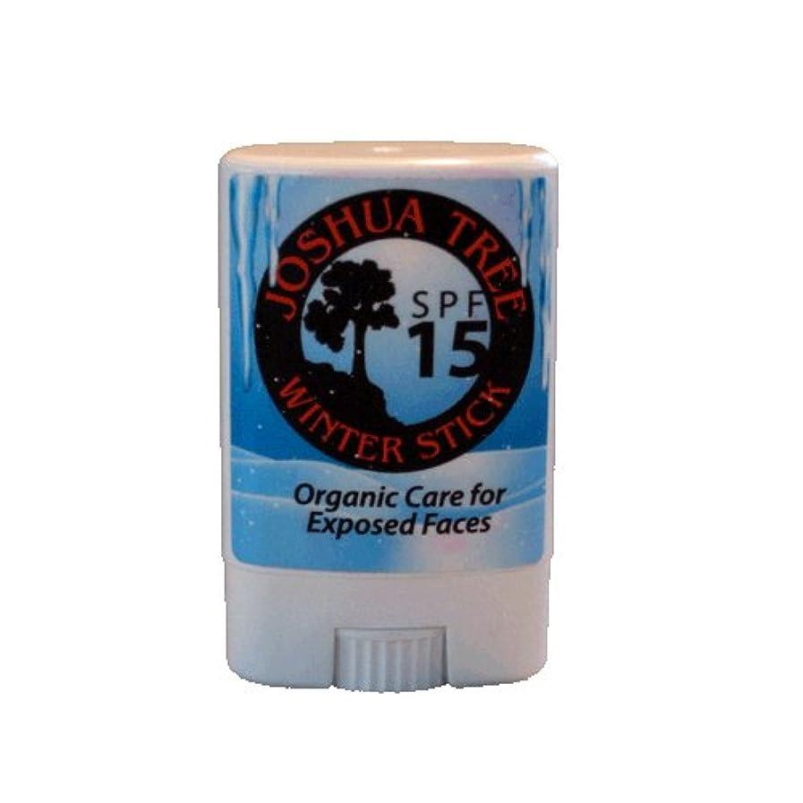 悲しむシード応じるJoshua Tree Winter Stick - SPF 15 Natural Sunscreen for Exposed Faces by Joshua Tree