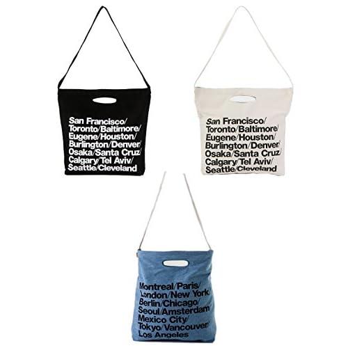 American Apparel (アメリカンアパレル) トートバッグ ショルダーバッグ シティバッグ ストラップバッグ 手持ちバッグ 肩掛け コットン デニム (ブルー)