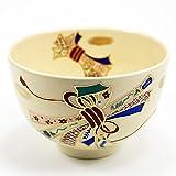 抹茶碗 「熨斗」 通年物 茶道具