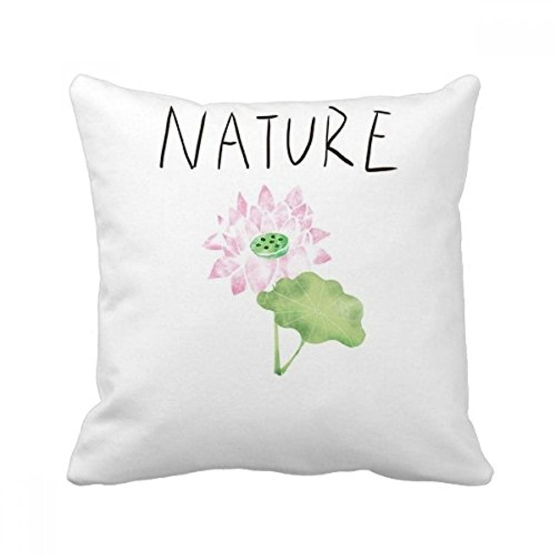ロータスの工場soloisland絵 枕を挿入して正方形の家のソファのクッション?カバーを放り投げてください 50cm x 50cm