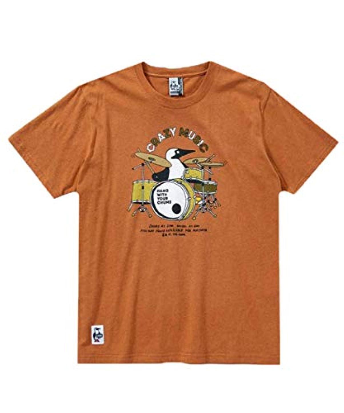 冊子状イサカCHUMS(チャムス) ブービードラムスTシャツ Booby Drums T-Shirt CH01-1513