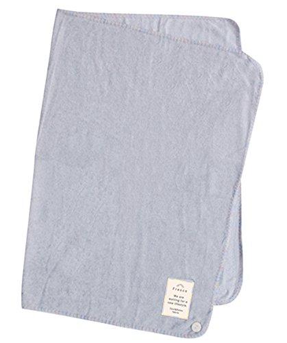 Fresco 涼しい 肌触り 竹繊維 の 3way サマー ひざ掛け ブランケット 70×100cm グレー 490-3484
