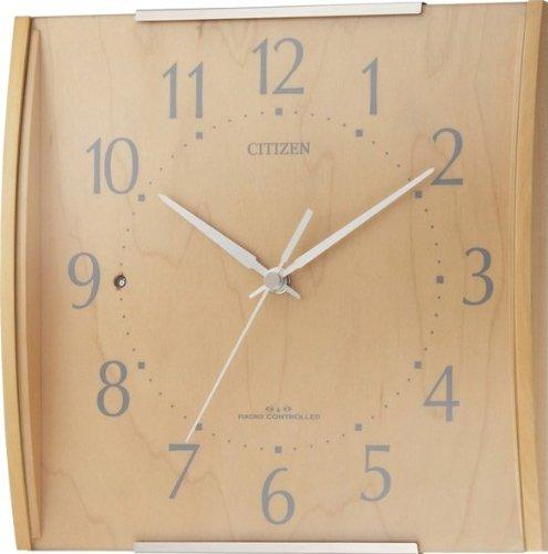 CITIZEN (シチズン) 掛時計 シンプルモード 電波時計 シンプルインテリア 8MYA08-007