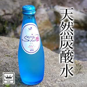 ロイヤルガストロ 国産天然炭酸水 aWa心水(12本セット)【会津心水/ミネラルウォーター】