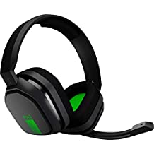 ASTRO Gaming A10 Headset for Xbox One/Nintendo Switch / PS4 / PC and Mac - Wired 3.5mm and Boom Mic by Logitech - Bulk Packaging - Green/Black