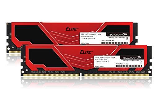 TEAM DDR4 2666Mhz PC4-21300 8GBx2枚(16G...