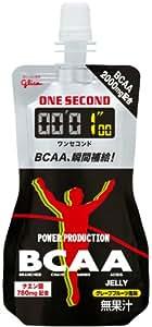 グリコ パワープロダクション ワンセコンドBCAA ゼリードリンク グレープフルーツ風味 1個 (72g) 6個入り