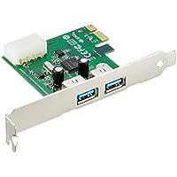PLANEX 増設ボード(USB2ポート) USB3.0対応 PCI Express x1(Rev.2)対応 FFP-US3PE2 (FFP)