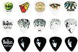 Planet Waves プラネットウェーブス ピック Beatles Guitar Picks Logo 1CAB4-15BT1 Medium 15枚入り 【国内正規品】
