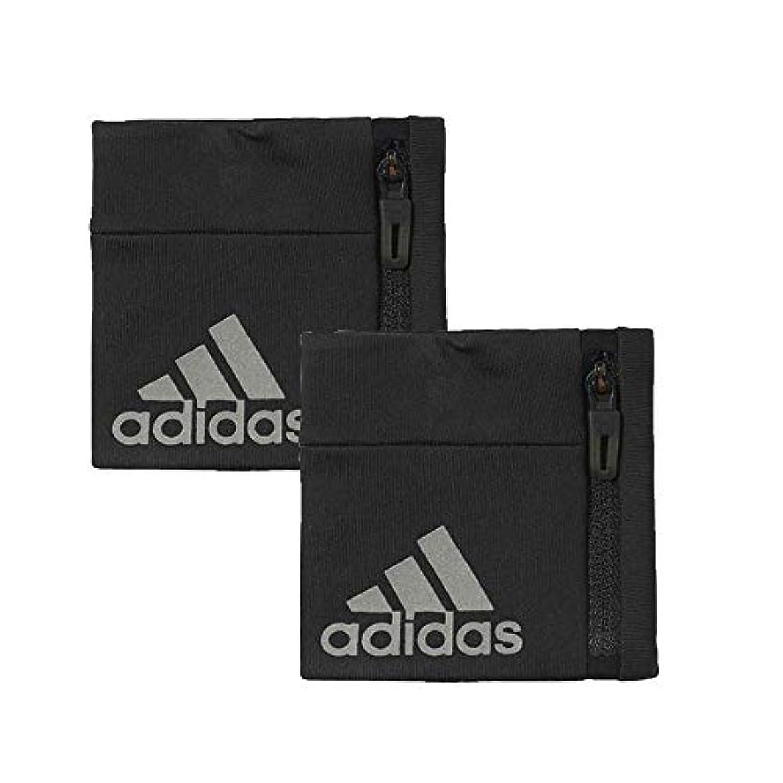 定期的にラオス人買うadidas(アディダス) クライマライトリストバンド 2個セット ブラック DLW59-BR0807-OSFX-2SET