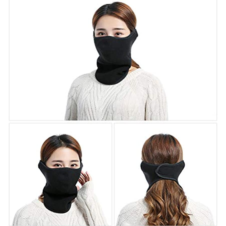 誤解させるアート静かなKENANLAN 冬の暖かいマスク、ネックプロテクター乗馬マスク、屋外での乗馬、ハイキングなどのためのスリーインワン屋外コールドカラー