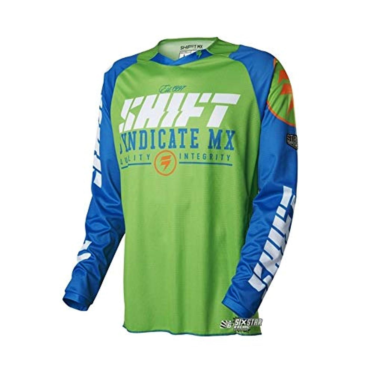 正確な移植成果CXUNKK オートバイのオフロード服に乗って夏のアウトドアライディングスピードの服長袖シャツメンズマウンテンバイク (Color : 17, Size : XS)