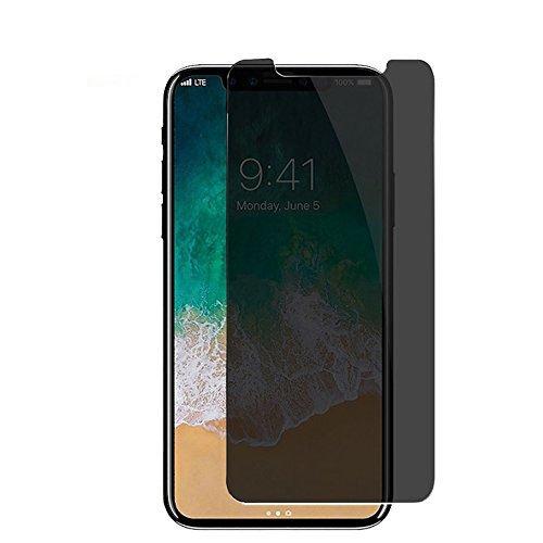 Keni iPhoneX 用 覗き見防止 強化ガラス液晶保護...