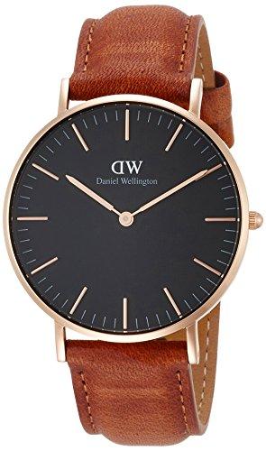 [ダニエル・ウェリントン] 腕時計 Classic Black Durham DW00100138 並行輸入品 ブラウン