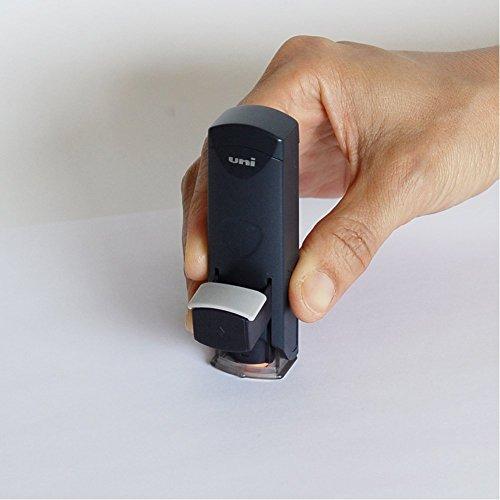三菱鉛筆 印鑑ホルダー はん蔵 速乾デラックス HLDS801.24 黒