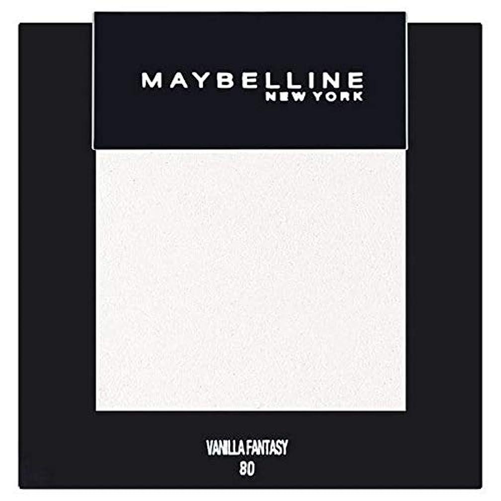 伸ばすメイト皮[Maybelline ] メイベリンカラーショーシングルアイシャドウ80バニラ - Maybelline Color Show Single Eyeshadow 80 Vanilla [並行輸入品]