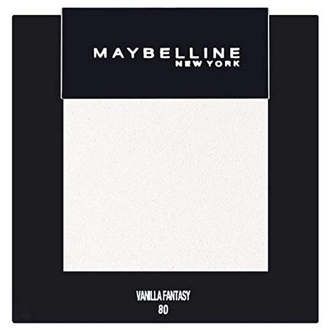ペチコートコピー水族館[Maybelline ] メイベリンカラーショーシングルアイシャドウ80バニラ - Maybelline Color Show Single Eyeshadow 80 Vanilla [並行輸入品]