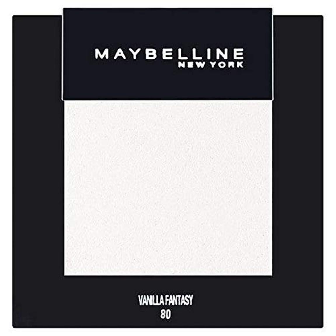 登録するセグメント猫背[Maybelline ] メイベリンカラーショーシングルアイシャドウ80バニラ - Maybelline Color Show Single Eyeshadow 80 Vanilla [並行輸入品]