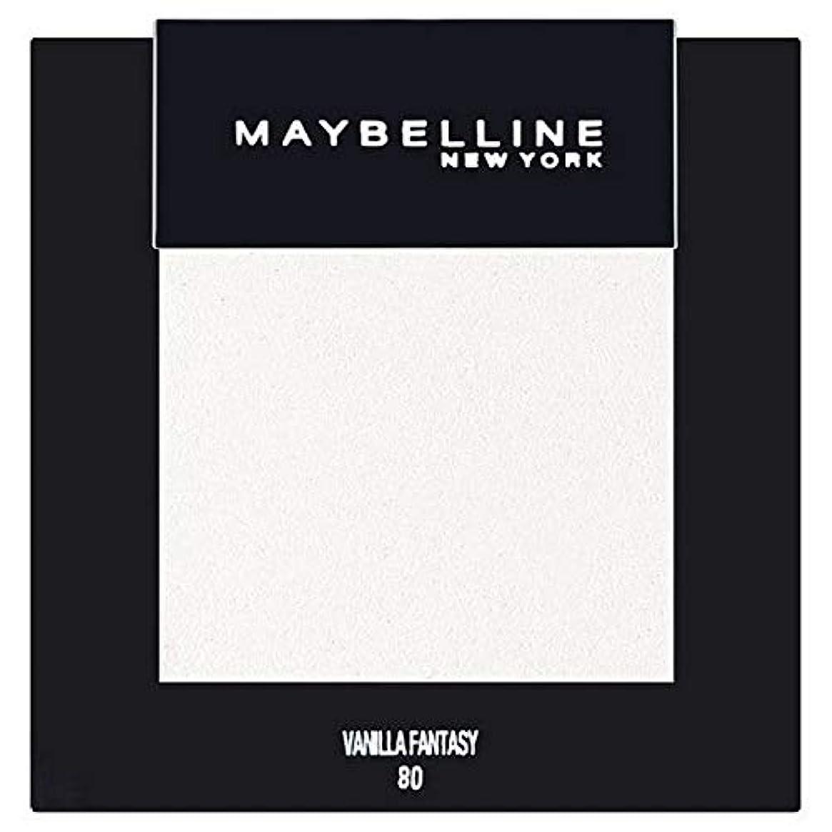 統計的嵐のサンドイッチ[Maybelline ] メイベリンカラーショーシングルアイシャドウ80バニラ - Maybelline Color Show Single Eyeshadow 80 Vanilla [並行輸入品]