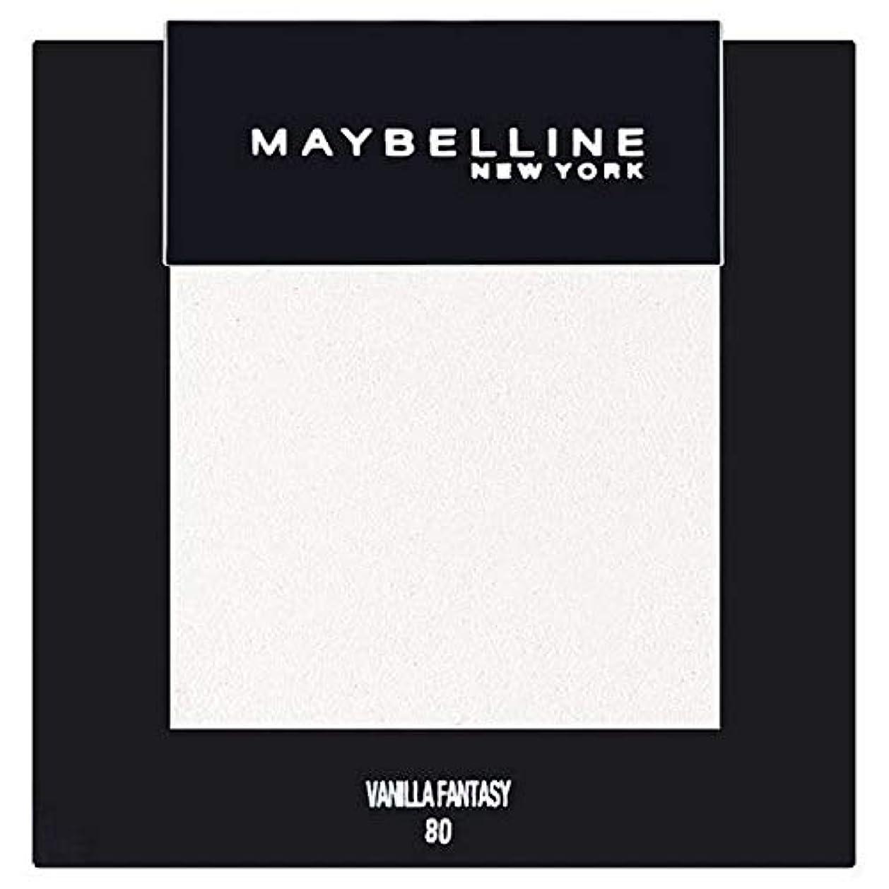 証言するこれまで狂う[Maybelline ] メイベリンカラーショーシングルアイシャドウ80バニラ - Maybelline Color Show Single Eyeshadow 80 Vanilla [並行輸入品]
